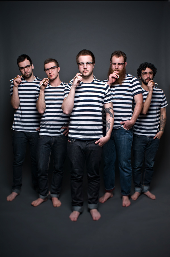 Protest The Hero - photo credit Steve Haining