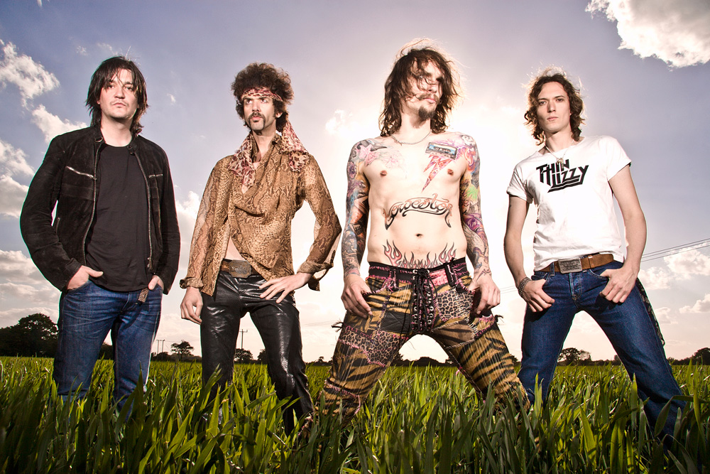 The Darkness are back, 2011 - photo credit Marianne Harris