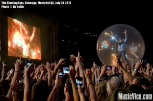 The Flaming Lips at Osheaga music festival 2011, Montreal - photo by Liz Keith, Music Vice