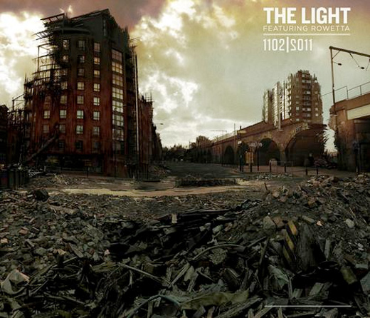The Light 1102-2011 EP cover artwork