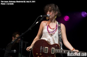 The Luyas at Osheaga music festival, Montreal - photo by Liz Keith, Music Vice