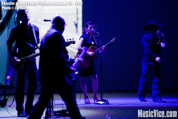Puscifer at Sony Centre for the Arts, Toronto - photo Liz Keith, Music Vice