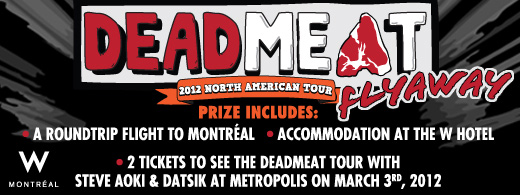 Live Nation Deadmeat Tour contest