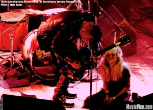 The Brains with Sarah Blackwood at The Opera House, Toronto, 7 January 2012 - photo Brian Banks