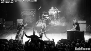 The Creepshow at The Opera House, Toronto, 7 January 2012 - photo Brian Banks