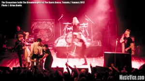 The Creepshow at The Opera House, Toronto, 7 January 2012 - photo Brian Banks