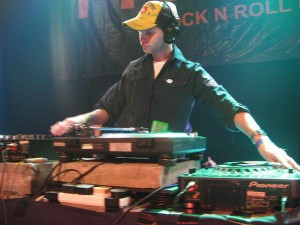 Ollie Russian DJing