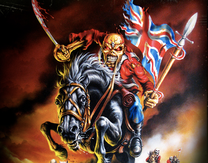 Iron Maiden - Maiden England 2012 tour, Eddie on horseback