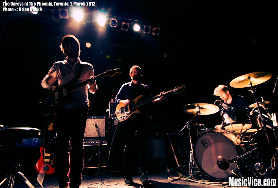 The Darcys at The Phoenix, Toronto - photo Brian Banks, Music Vice