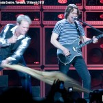 Van Halen at the ACC Toronto - Eddie Van Halen and David Lee Roth - photo Brian Banks, Music Vice