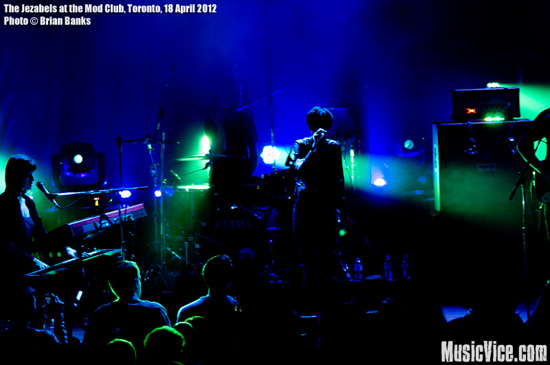 The Jezabels at the Mod Club, Toronto - photo Brian Banks, Music Vice