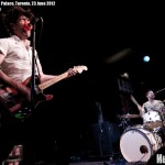 Japandroids at Lee's Palace, 23 June 2012 - photo Brian Banks, Music Vice