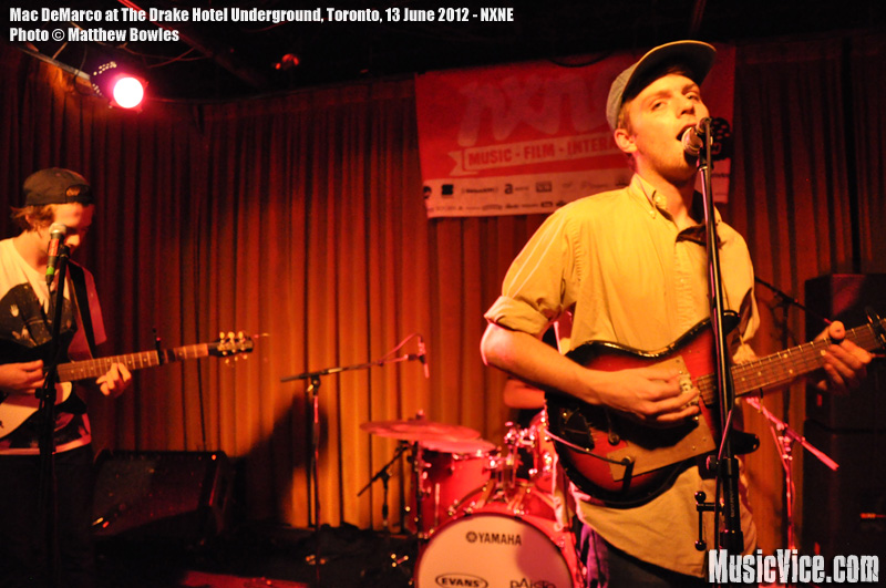 Mac DeMarco at The Drake Underground, Toronto, NXNE 2012 - photo Matthew Bowles
