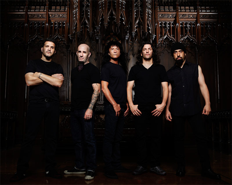 Anthrax - group photo, 2012