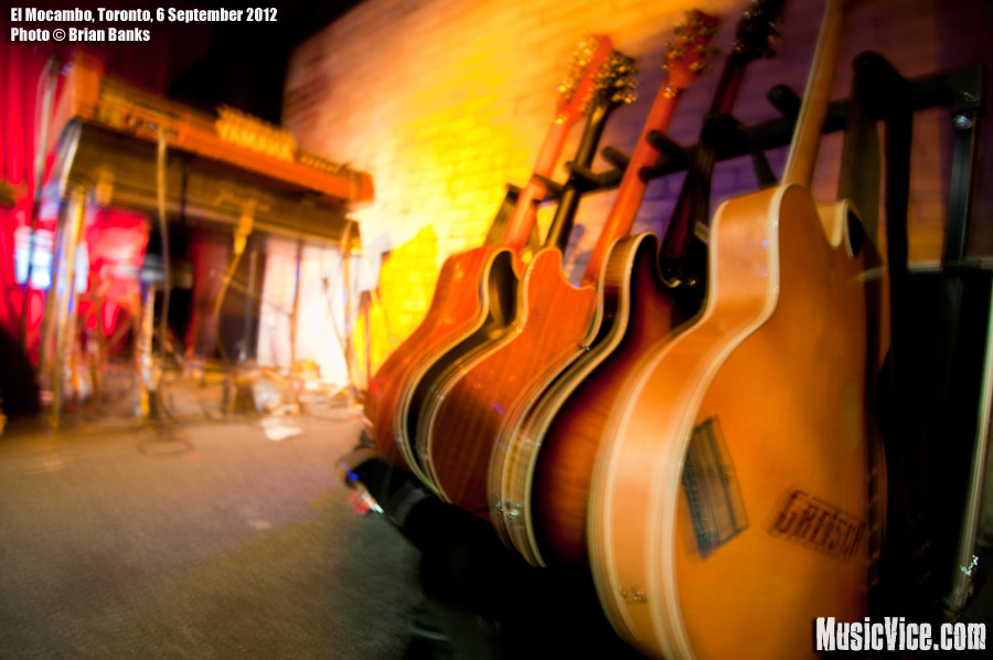 El Mocambo, Toronto - 6 September, 2012 - photo Brian Banks