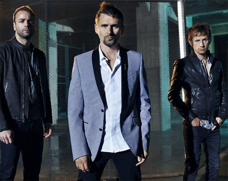 Muse group photo, 2012