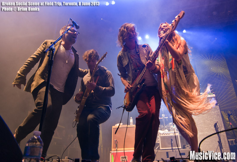 Broken Social Scene at Field Trip - photo Brian Banks, Music Vice