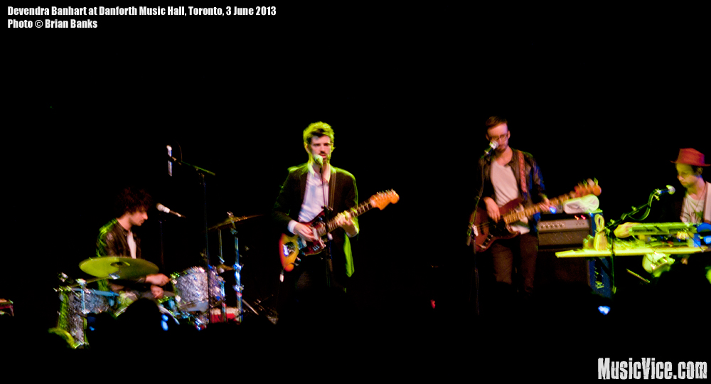 Devendra Banhart at Danforth Music Hall, Toronto - photo Brian Banks, Music Vice