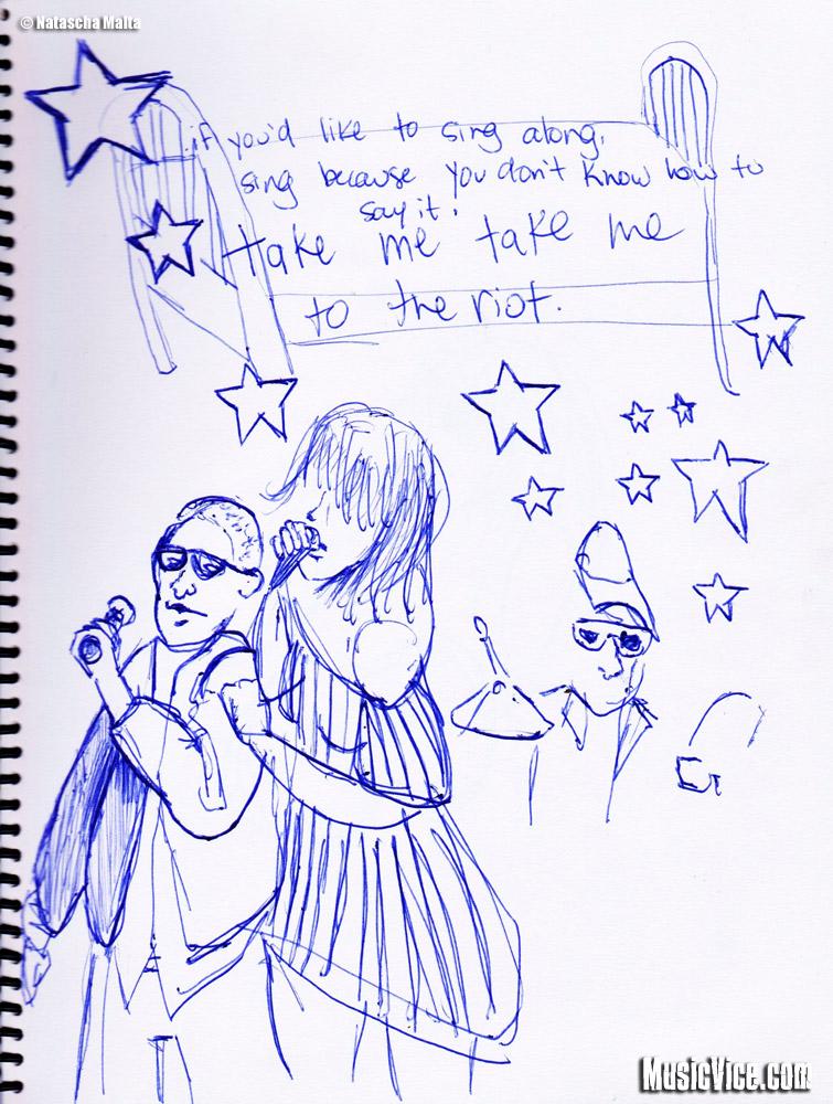 Field Trip sketchbook Stars by Natascha Malta, MusicVice.com