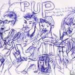PUP sketch by Natascha Malta, Music Vice