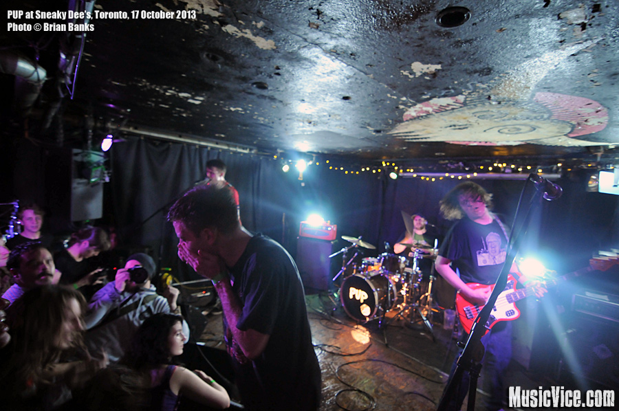PUP at Sneaky Dee's, Toronto - photo by Brian Banks, Music Vice
