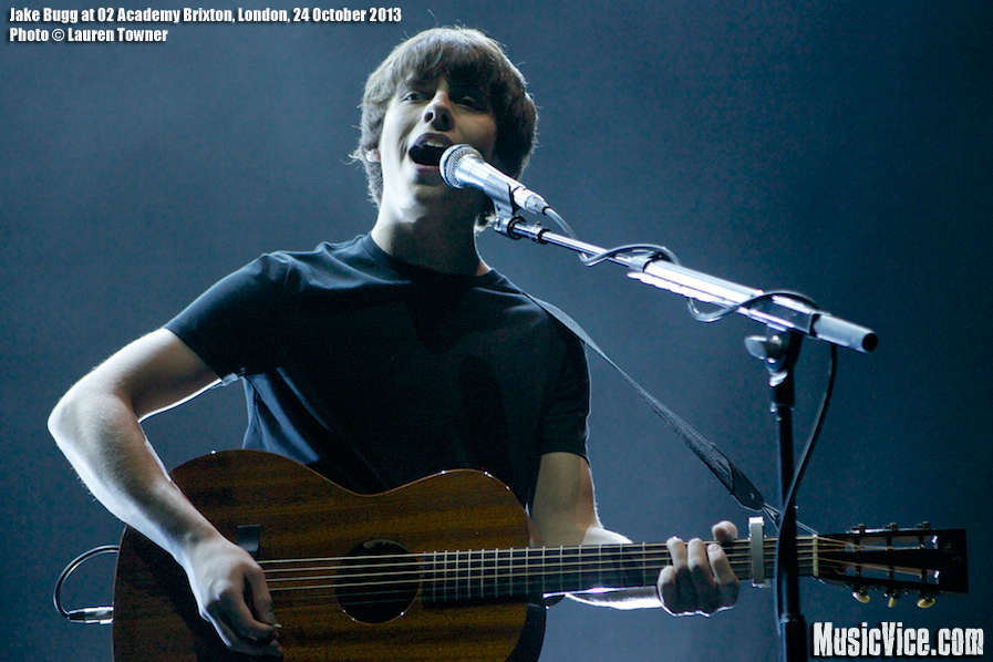 Jake Bugg at 02 Academy Brixton, London - photo by Lauren Towner, Music Vice Magazine