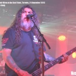 Slayer at Kool Haus, Toronto, 21 November - photo by Jackie Hong, Music Vice