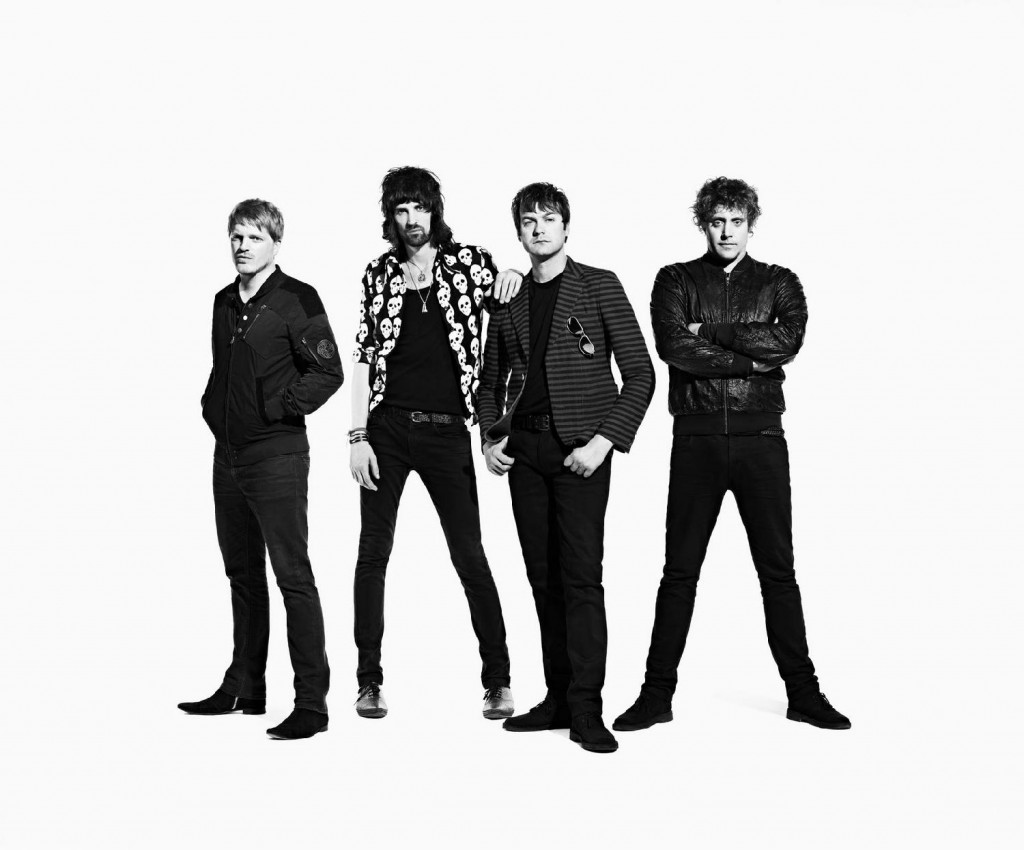 Kasabian announced a massive homecoming gig in Leicester's Victoria Park as apart of their 10th anniversary as a band