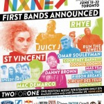 NXNE 2014 first bands