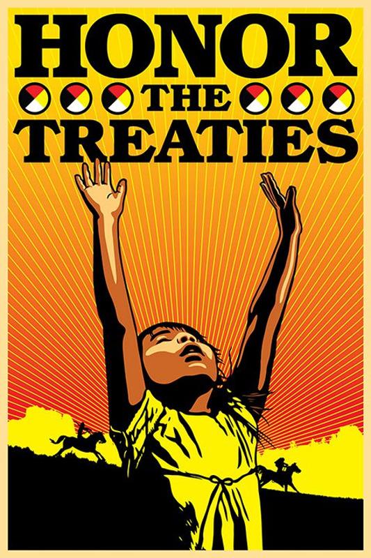 Honour The Treaties graphic