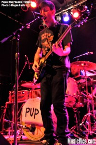 Pup at The Phoenix, Toronto, January 2014 - photo by Megan Rach, Music Vice