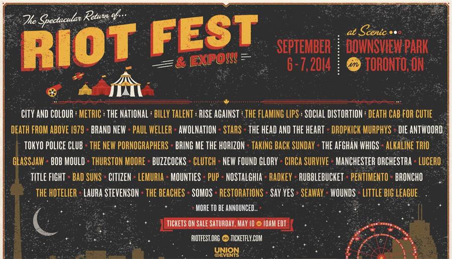 Riot Fest 2014