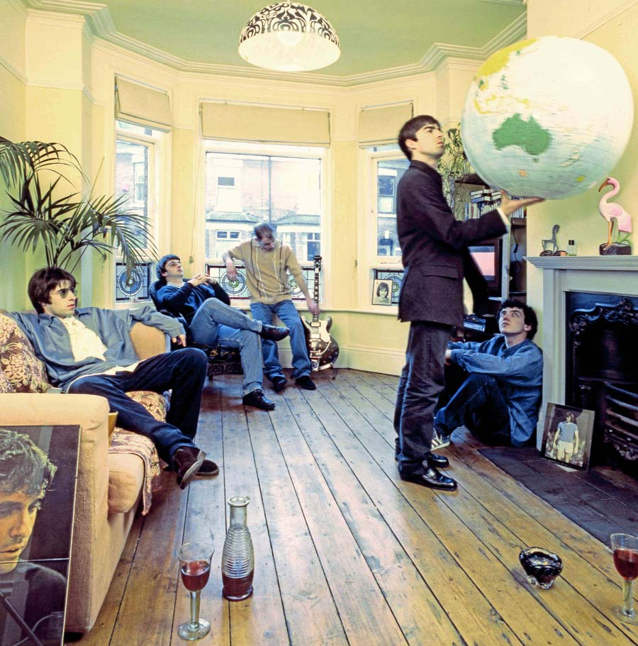 "Preview: ""Definitely Maybe – The Oasis Photographs"" by Michael Spencer Jones exhibition at the Royal Albert Hall"