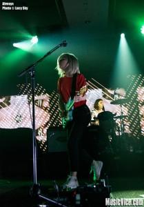 Alvvays at 2015 SiriusXM Indie Awards, Toronto - photo Lucy Sky, Music Vice