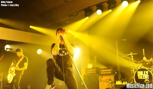 Billy Talent at 2015 SiriusXM Indie Awards, Toronto - photo Lucy Sky, Music Vice