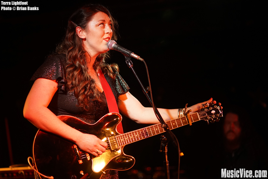 Terra Lightfoot at the Horseshoe Tavern, CMW 2015 - photo Brian Banks