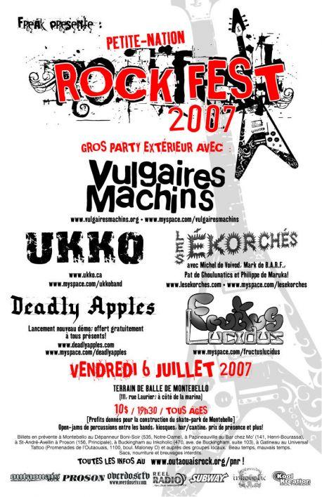 rockfest 2007 poster