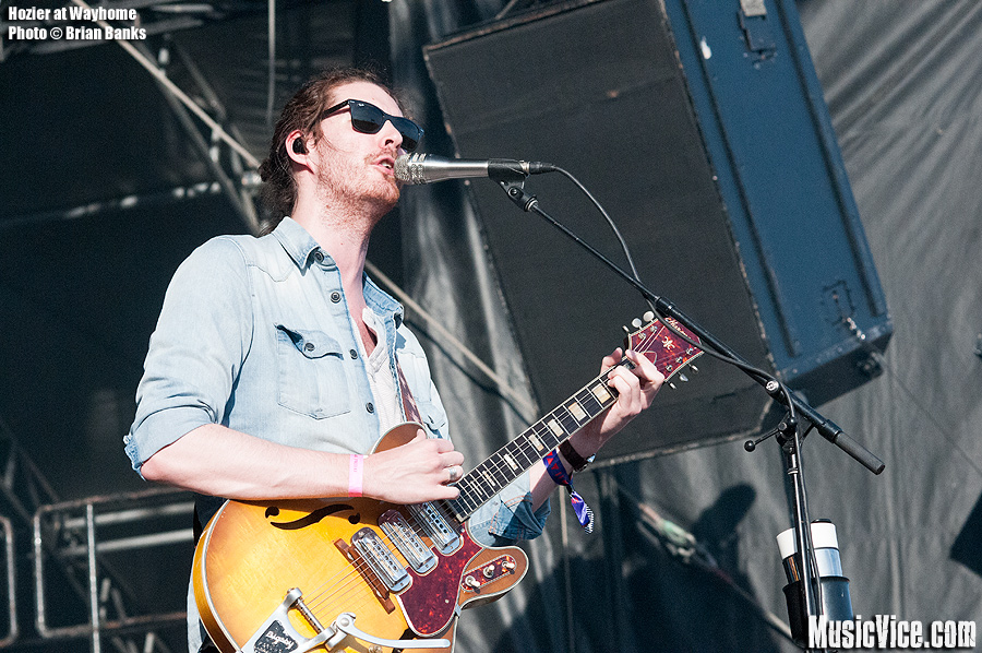 Hozier at Wayhome - photo Brian Banks