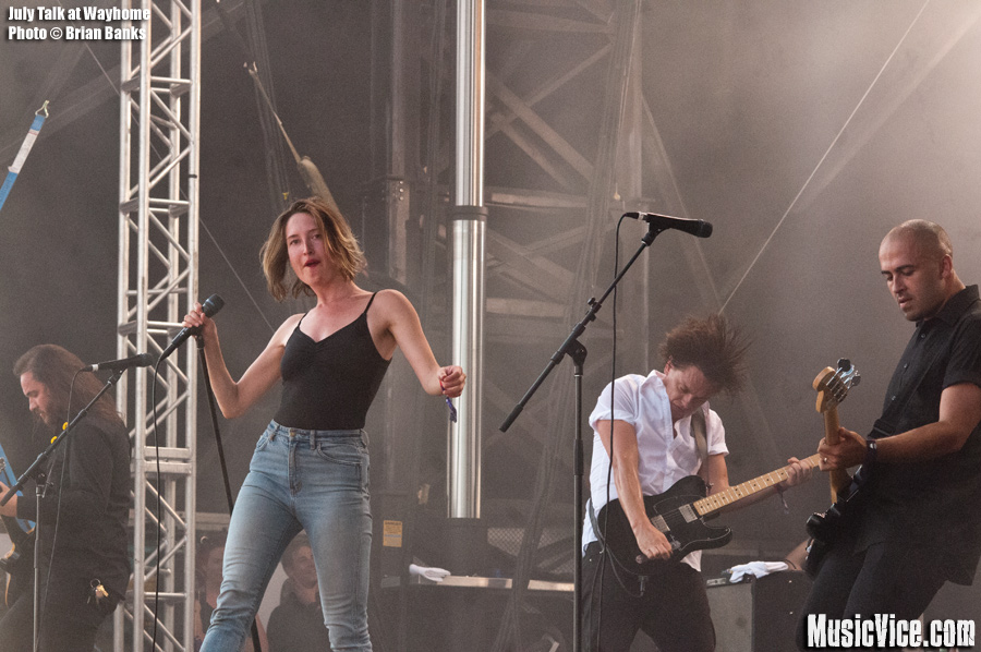 July Talk at Wayhome - photo Brian Banks