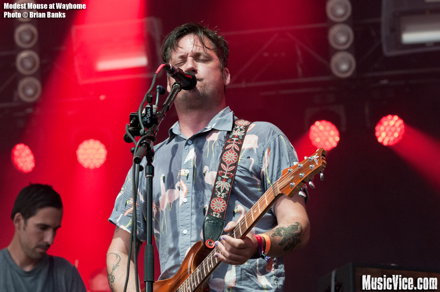 Modest Mouse at Wayhome - photo Brian Banks