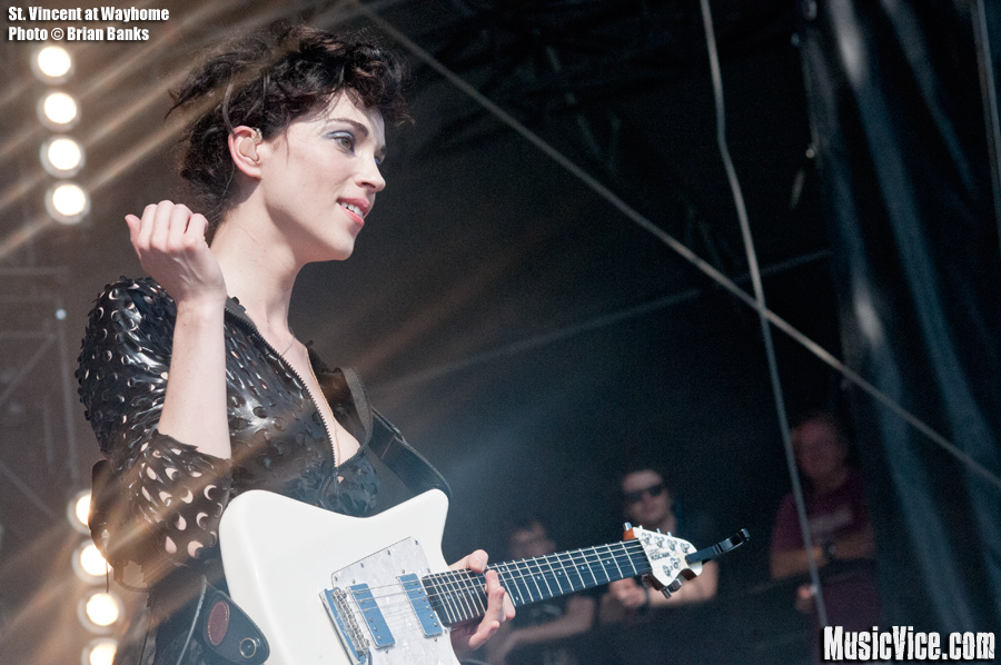 St. Vincent at Wayhome - photo Brian Banks