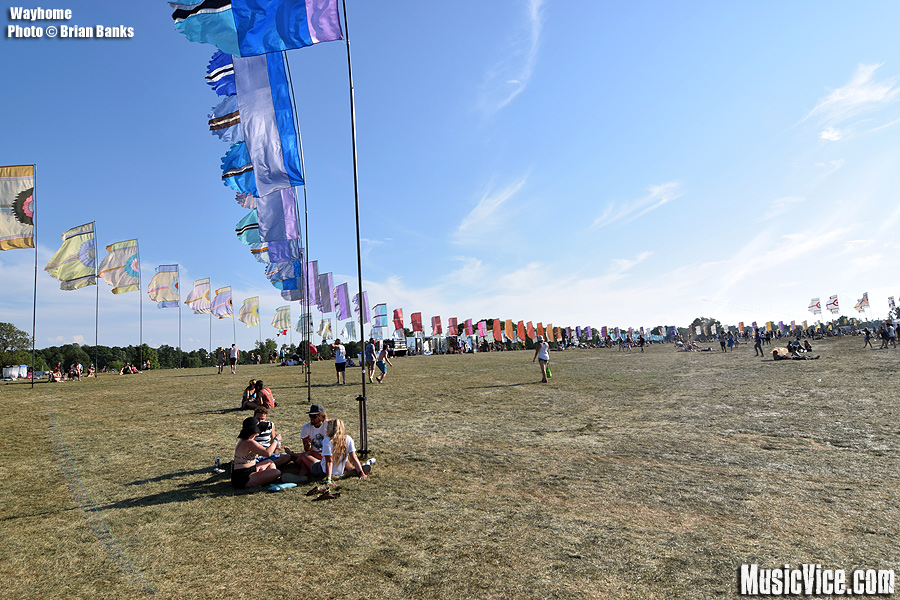 Wayhome flags - photo Brian Banks