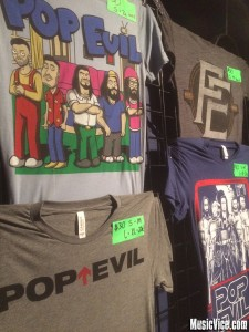 Pop Evil merch
