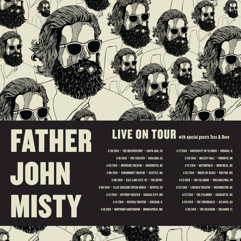 Father John Misty 2016 US and Canada tour dates