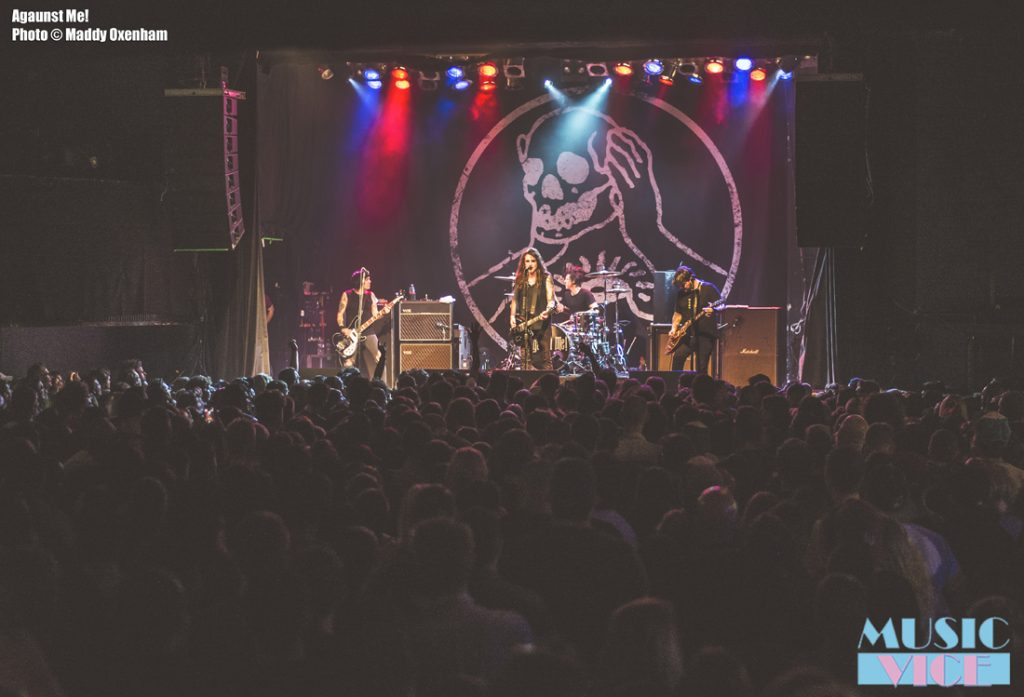 Against Me! at the Phoenix Concert Theatre - photo Maddy Oxenham, Music Vice