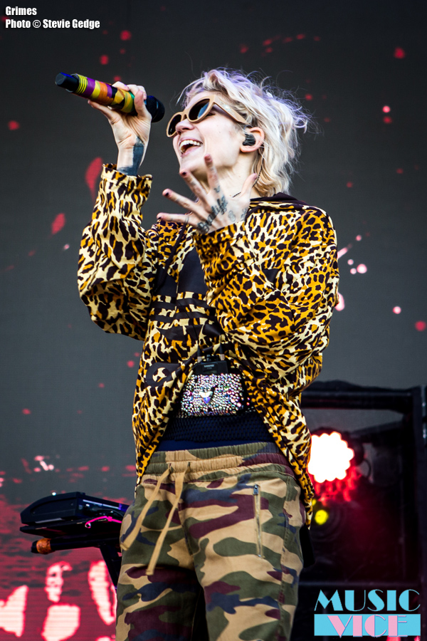 Grimes at Bestival Toronto - photo Stevie Gedge