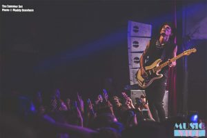 The Summer Set at the Mod Club, Toronto - photo Maddy Oxenham, Music Vice