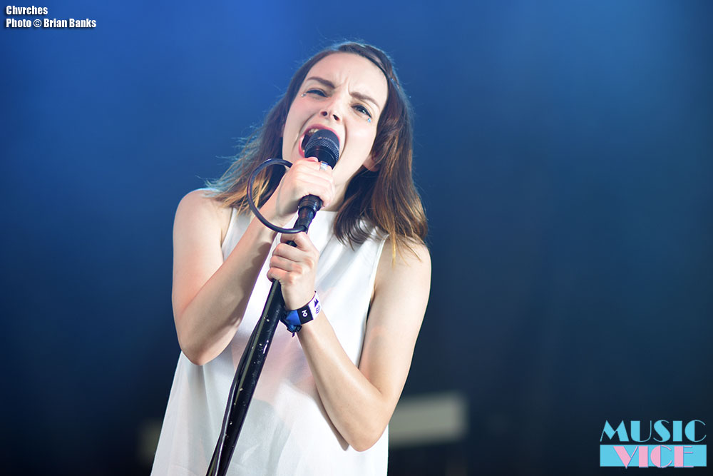 Chvrches at Wayhome, 2016 - photo Brian Banks, Music Vice