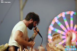 Foals at Wayhome, 2016 - photo Brian Banks, Music Vice