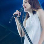 Chvrches at Wayhome 2016 - photo Tia Wong, Music Vice